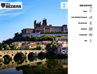 ville-beziers.fr screenshot