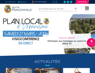 ville-franconville.fr screenshot