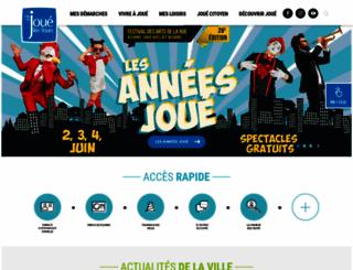 ville-jouelestours.fr screenshot