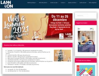 ville-lannion.fr screenshot