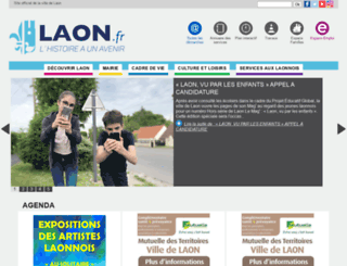ville-laon.fr screenshot