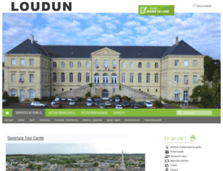ville-loudun.fr screenshot