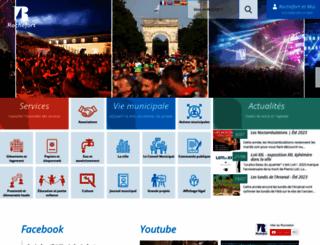 ville-rochefort.fr screenshot