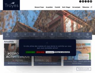 ville-troyes.fr screenshot