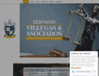 villegasyasociados.com.mx screenshot