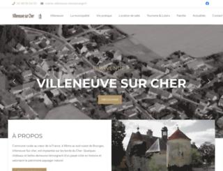villeneuvesurcher.net screenshot