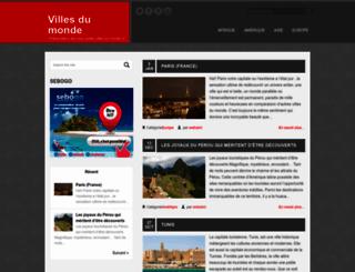 villes-du-monde.com screenshot