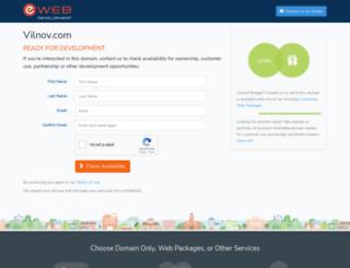 vilnov.com screenshot