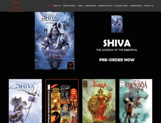 vimanikacomics.com screenshot