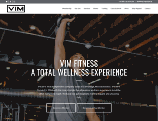 vimfitness.com screenshot