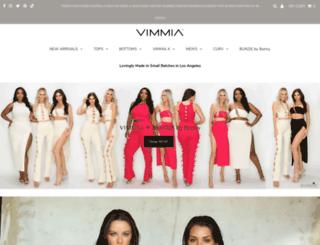 vimmia.com screenshot