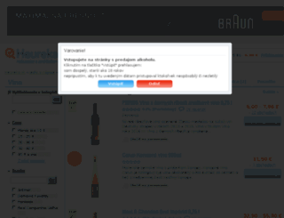vina.heureka.sk screenshot