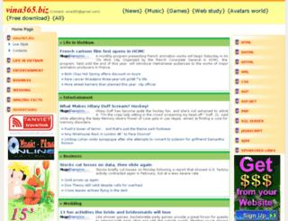vina365.biz screenshot