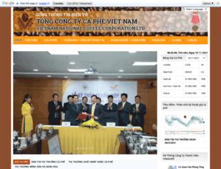 vinacafe.com.vn screenshot