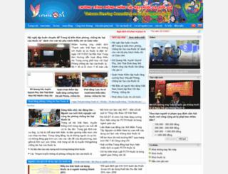 vinacosh.gov.vn screenshot
