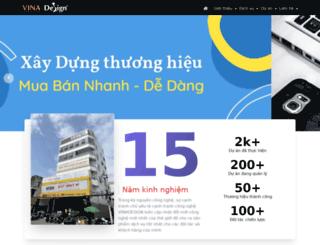 vinadesign.vn screenshot