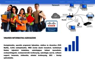 vinaren.hu screenshot