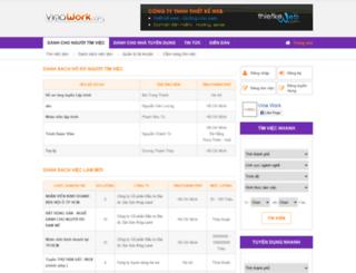 vinawork.com screenshot