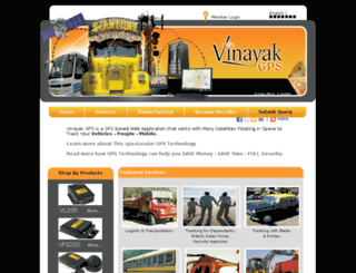 vinayakgps.net screenshot