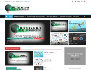 vinayakwebsite.com screenshot