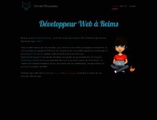 vincent-rousseau.net screenshot