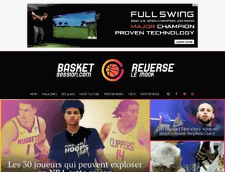vincentbot.basketsession.com screenshot