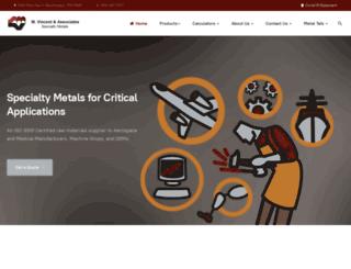 vincentmetal.com screenshot