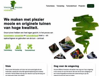 vincentwillems.nl screenshot