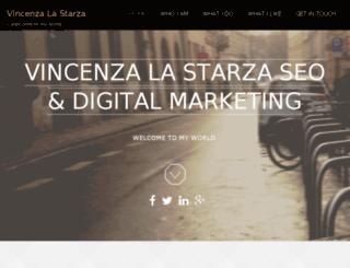 vincenzalastarza.com screenshot