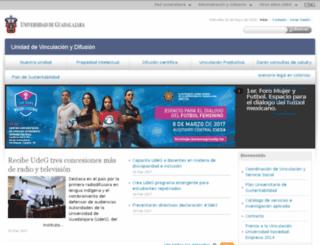 vinculacion.udg.mx screenshot