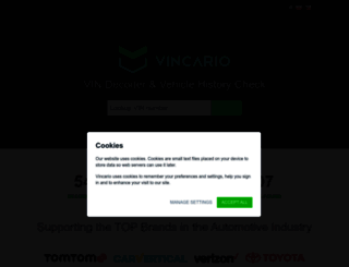 vindecoder.eu screenshot