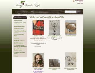 vineandbranchesgifts.com screenshot