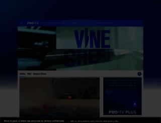 vinecheful.protv.ro screenshot