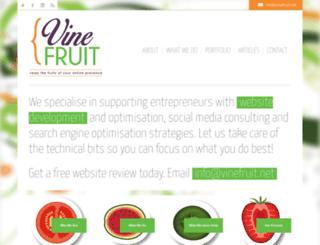vinefruit.net screenshot