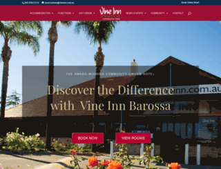 vineinn.com.au screenshot
