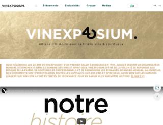 vinexpo-explorer.com screenshot
