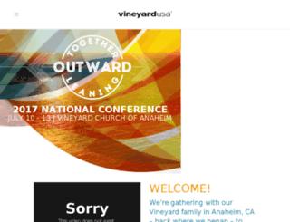 vineyardusaconference.com screenshot
