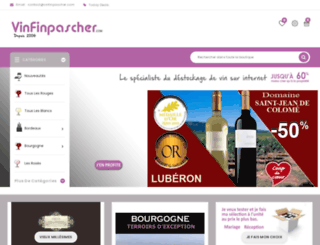 vinfinpascher.com screenshot