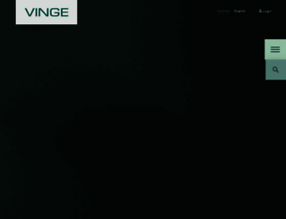 vinge.se screenshot