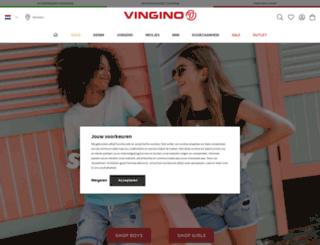 vingino.nl screenshot