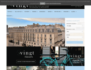 vingtparis.com screenshot