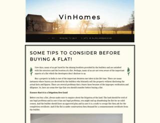 vinhomes1.yolasite.com screenshot