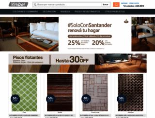 vinibel.com.uy screenshot