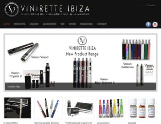 viniretteibiza.com screenshot