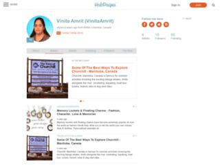 vinitaamrit.hubpages.com screenshot