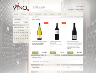 vino.cz screenshot