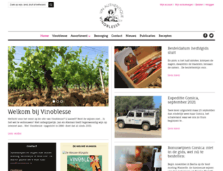 vinoblesse.nl screenshot