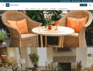 vinodfurnitures.com screenshot