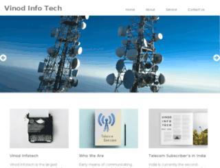 vinodinfotech.com screenshot
