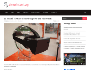vinoedintorni.org screenshot